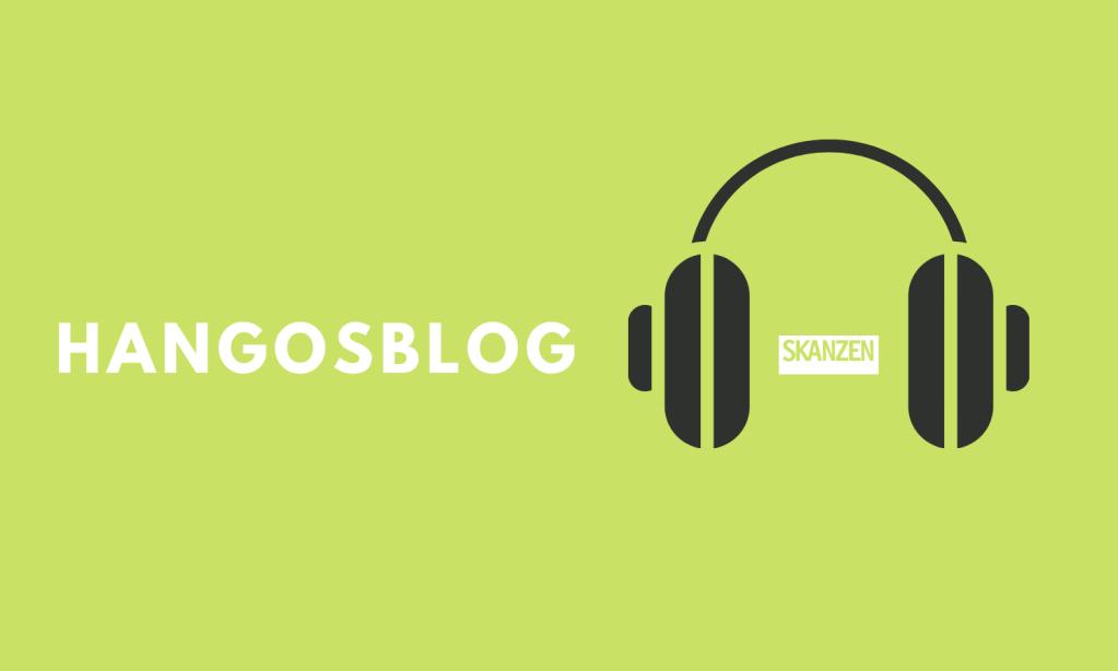 A képen a HangosBlog logója látható fülhallgatóval